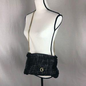 GIANNI BINI black crossbody small purse